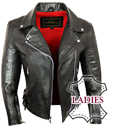 Ladies Rebel Leather Jacket